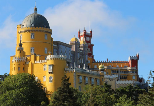 Sintra Castle Pena National Palace Mountains