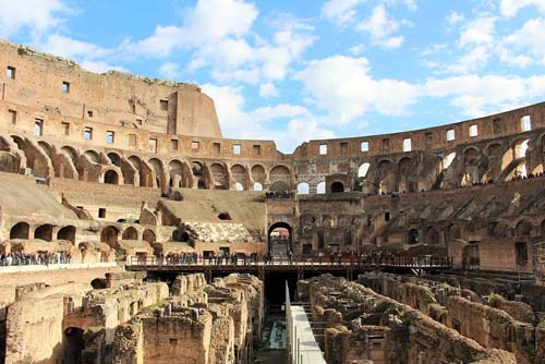 Colosseum Inside